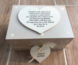 Personalised In Memory Of Box Loved One ~ DAUGHTER ~ any Name Bereavement Loss - 253572956217